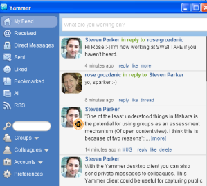 Features of Yammer
